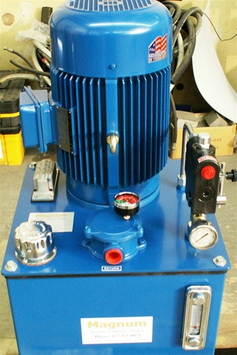 Power unit 10 hp 3 60 single flow for 10 hp hydraulic motor